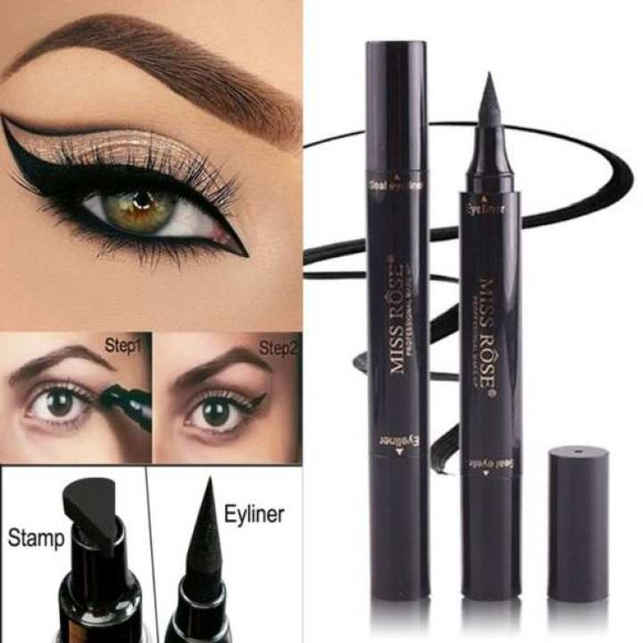 NEW Miss Rose Magic 2 in 1 Eyeliner and Seal Eyeliner