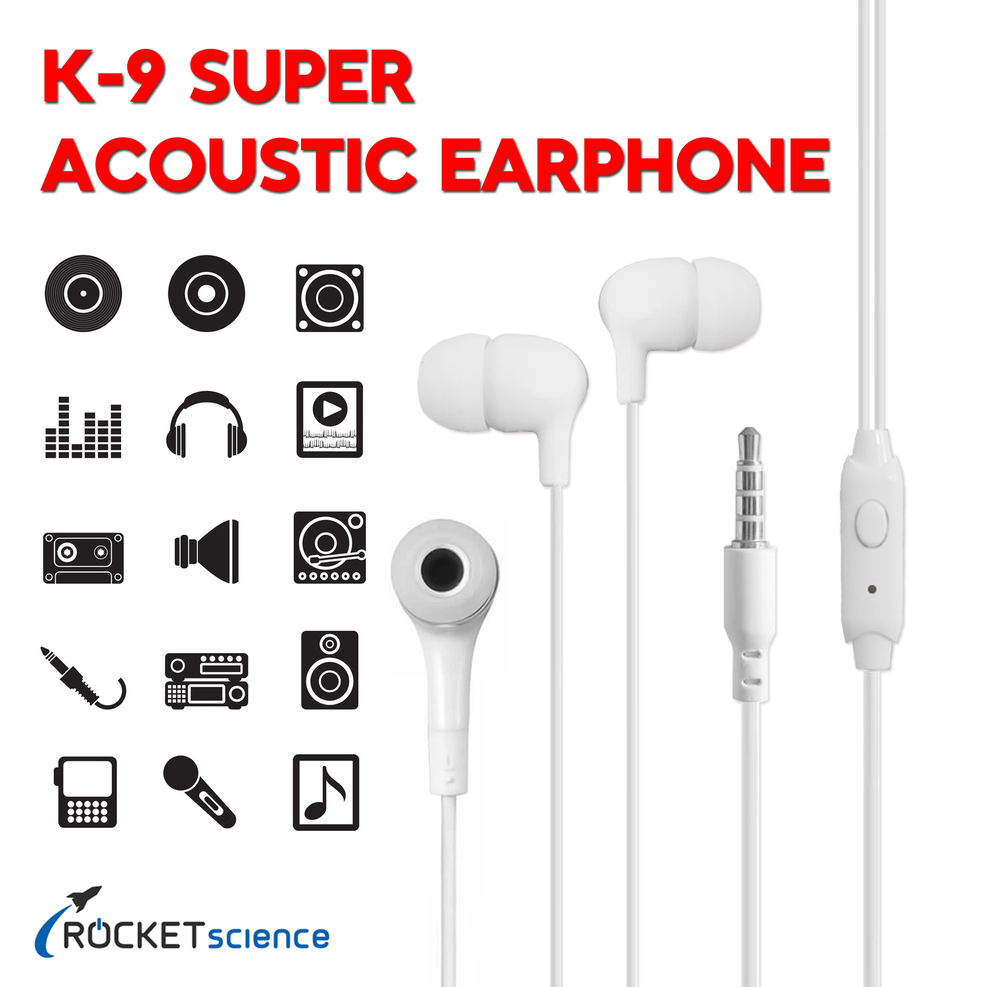 Universal Mobile Headsets & Earphones Handsfree for All Android Mobile Phones