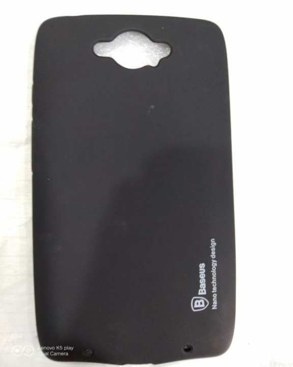 Motorola Droid Turbo 1 Basues Soft Silicone Case black