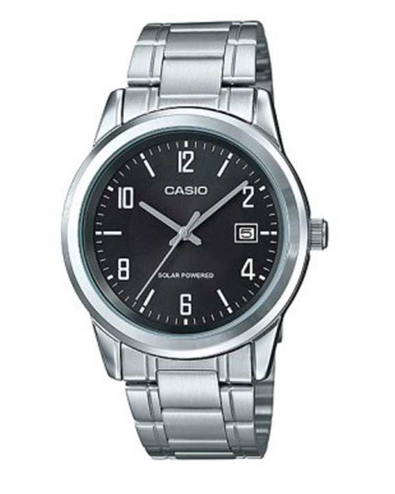 Casio - MTP-VS01D-1BDF - Stainless Steel Watch for Men