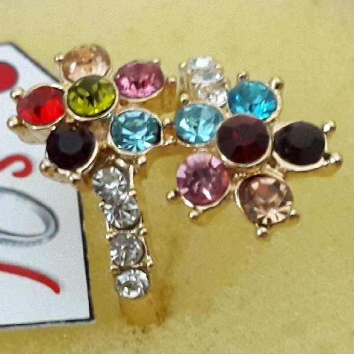 Stylish Ring with Multi Stones