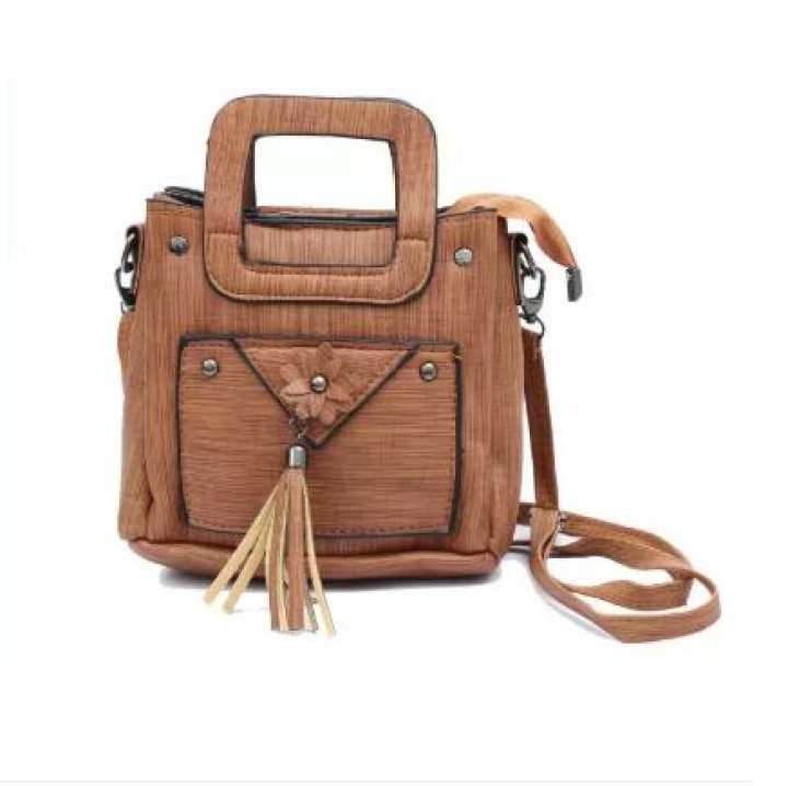 Stylish Antique Design Multicolor Hand Bag For Girls