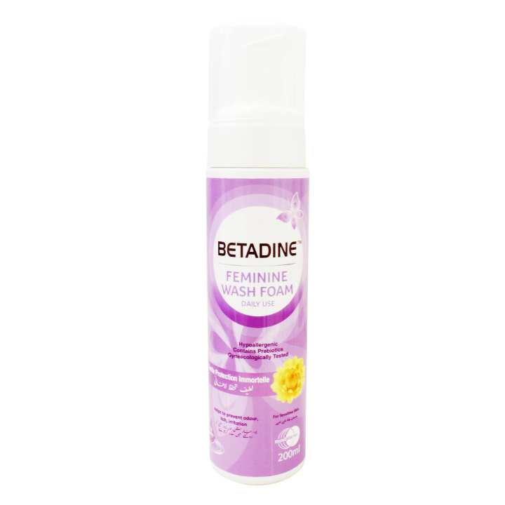 Betadine Feminine Foam 200ml