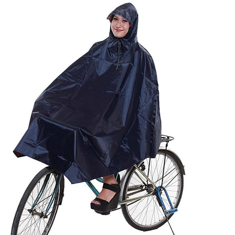 Bike Bicycle Waterproof Raincoat Cycling Poncho Rain Poncho Adult Raincoat Women Men RainCover Raincoat Rain Hood Rainwear