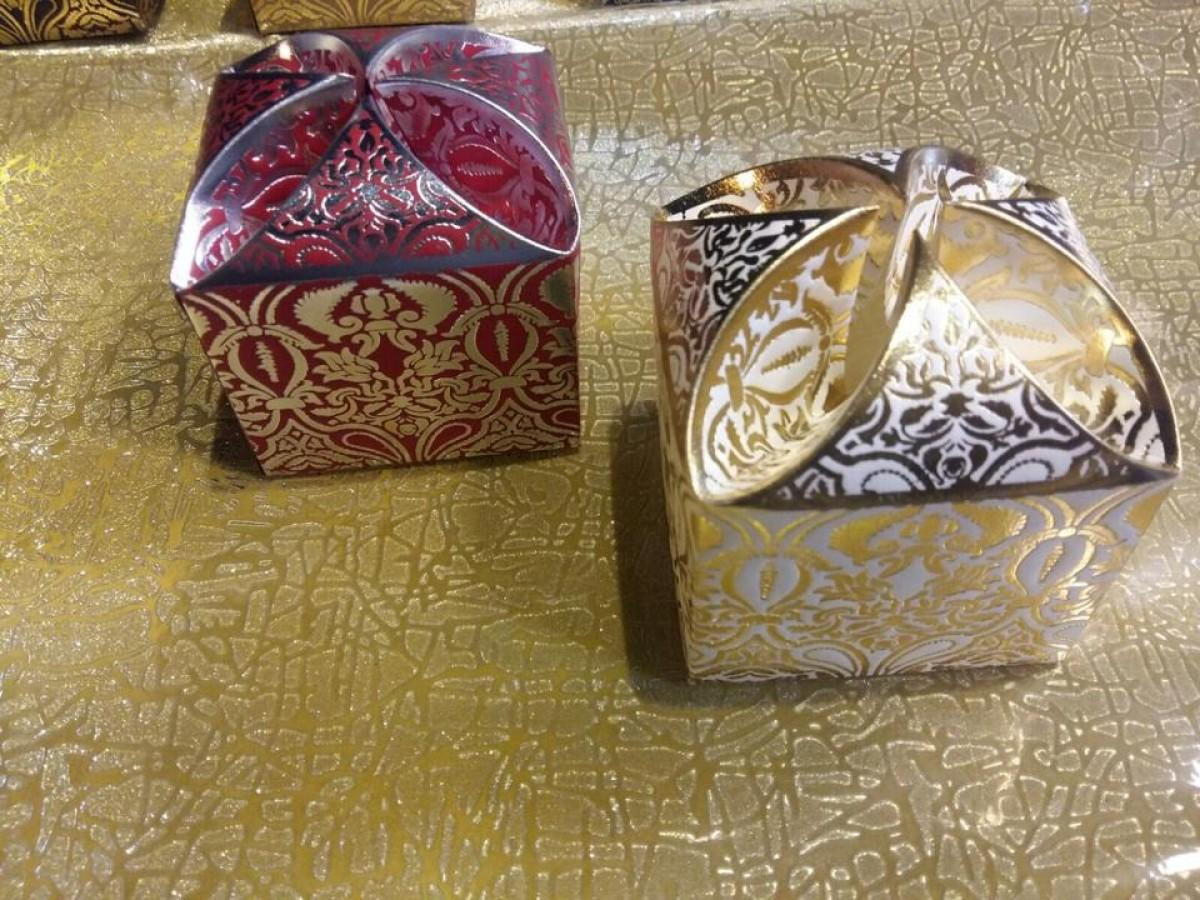 Nikah Favor Boxes - Pack of 100