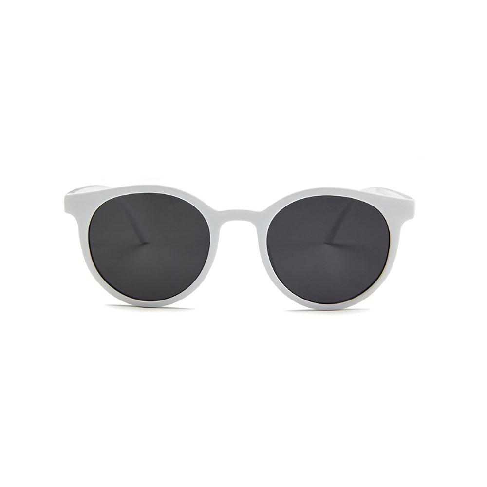 f157cad4cbcb TE Korean Sunglasses Ladies Fashion Sunglasses Dazzling Retro Glasses  Decorative White-Grey