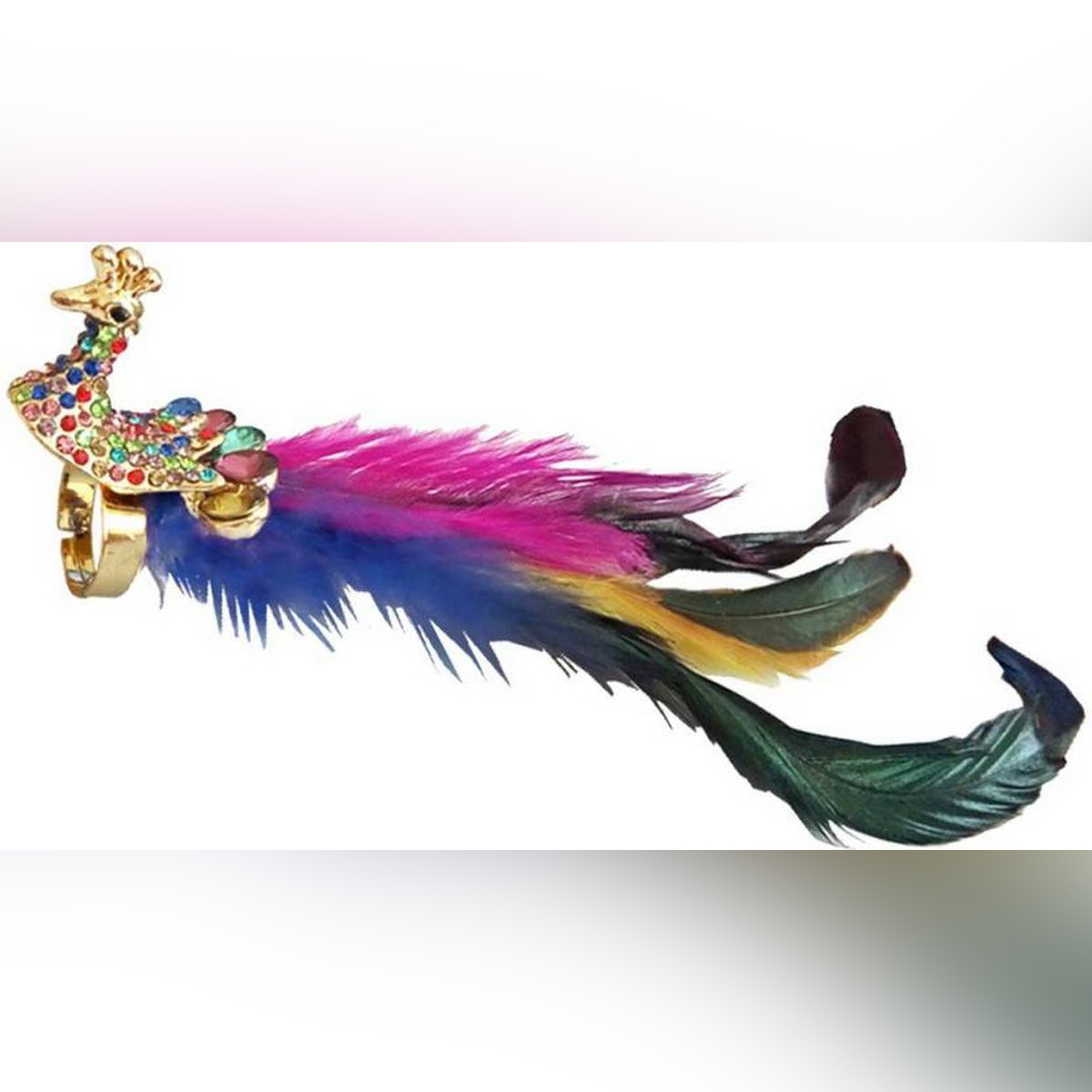 New Fashion Fine Antique Peacock Rings