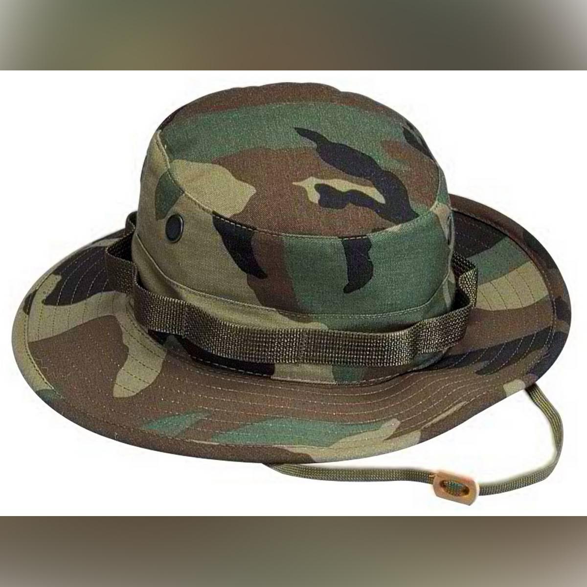 Bucket Hat Summer Men Women Boonie Hat Outdoor UV Protection Wide Brim Military Hiking Fishing Sun Hat Cap
