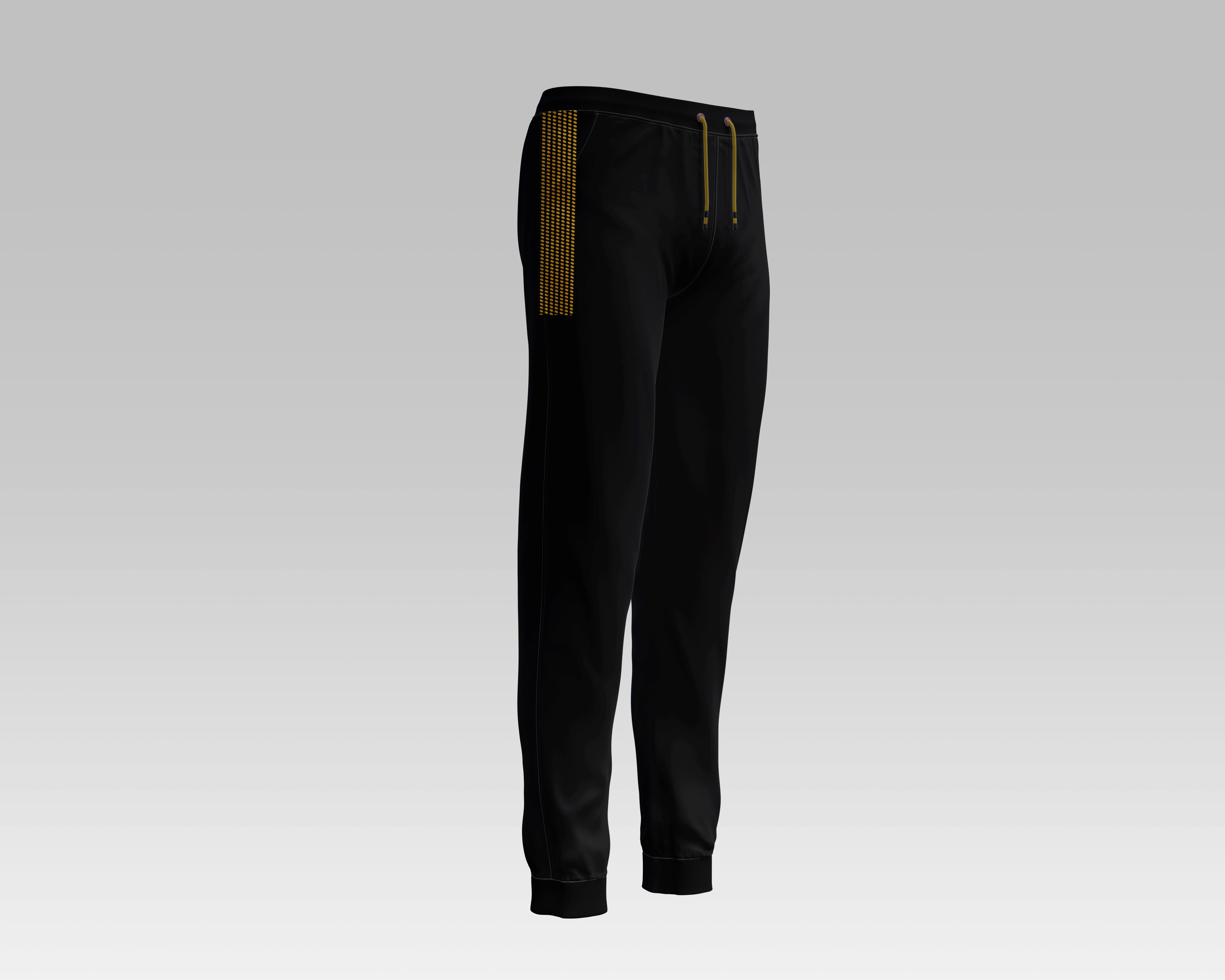 Unique Design BLACK Micro Double Interlock Trousers for Men Gym Trousers Boys