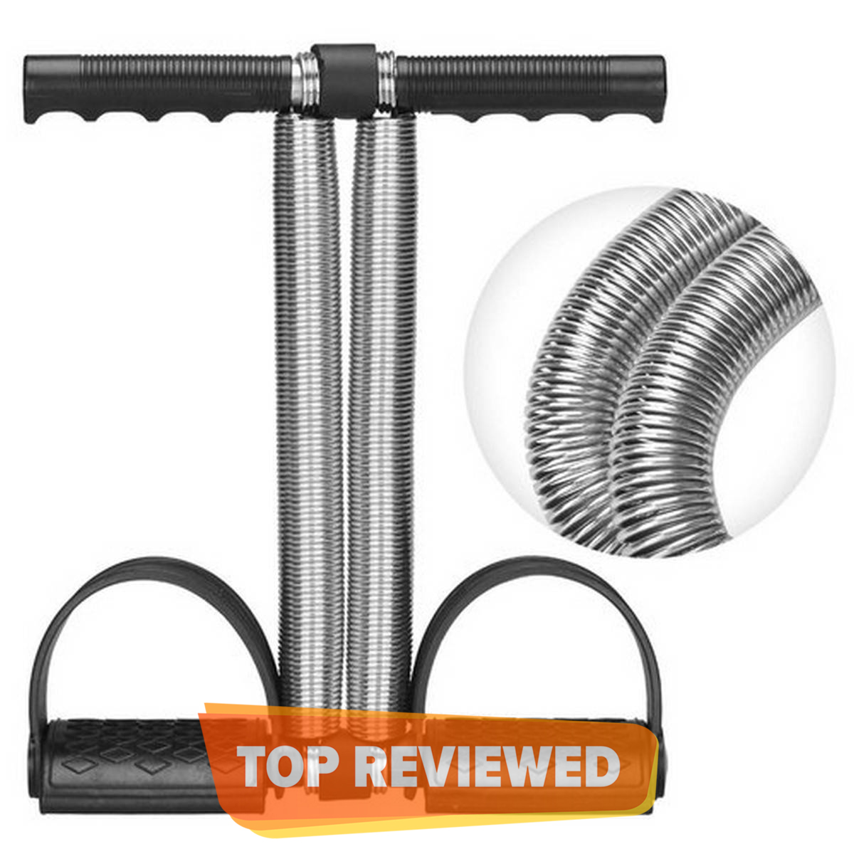 Tummy Trimmer Double Spring (High Quality) Weight Loss Machine For Home Gym