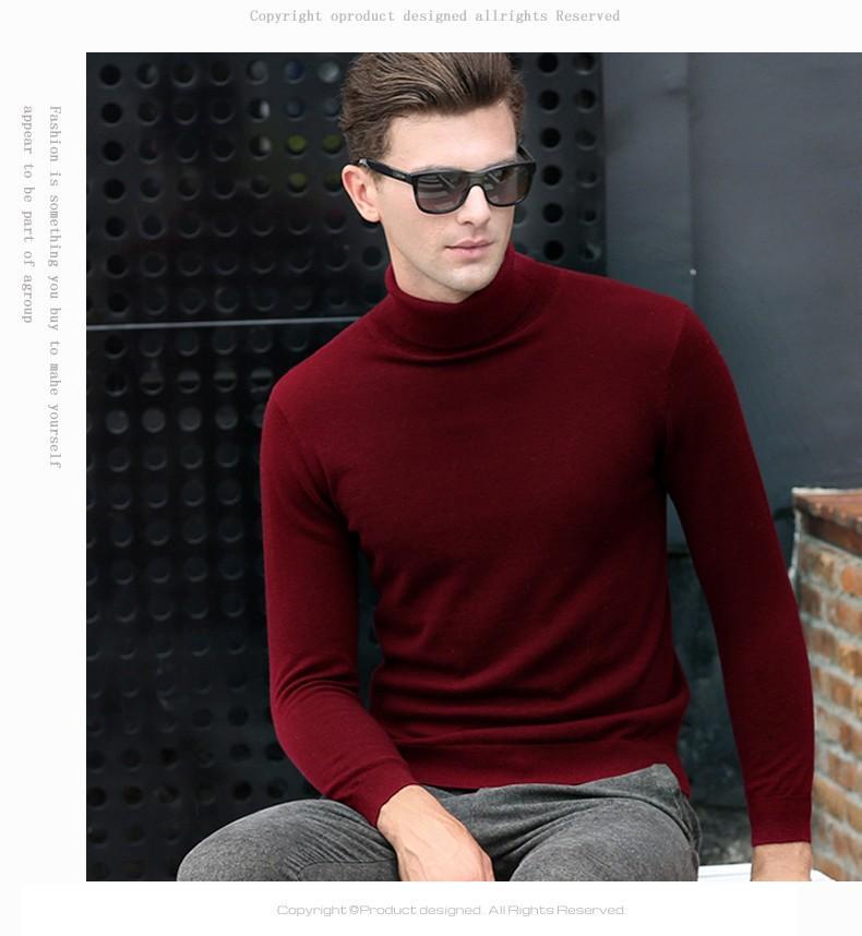 Full Sleeves High Neck Lycra body fitter /Sweater/ warmer /inner wear/ turtle-neck for winter ( unisex) hi neck maroon