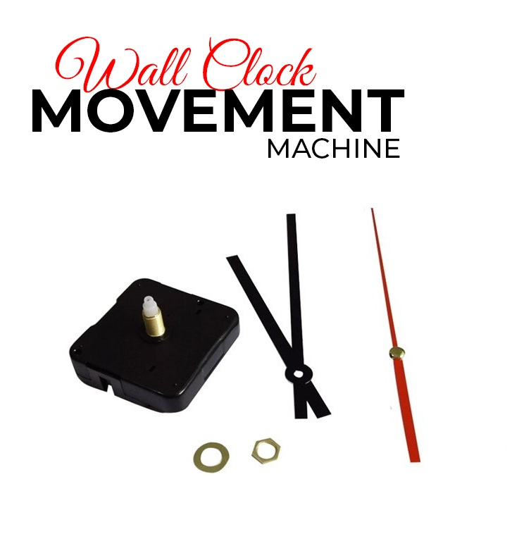 Wall Clock Replacement Machine with Accessories