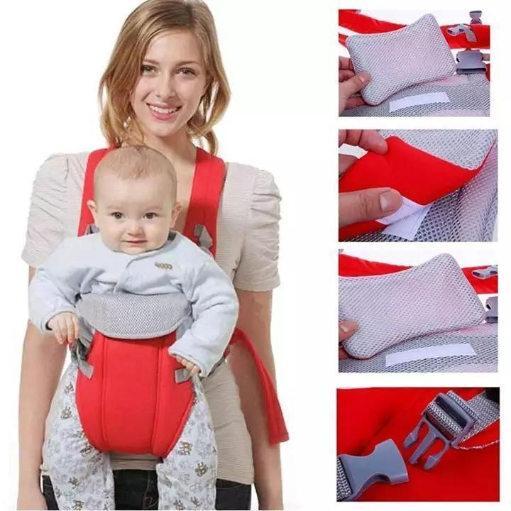 Infants Hip Seat Newbron Carrier Breathable Ergonomic Wrap Sling Backpack 2 in 1