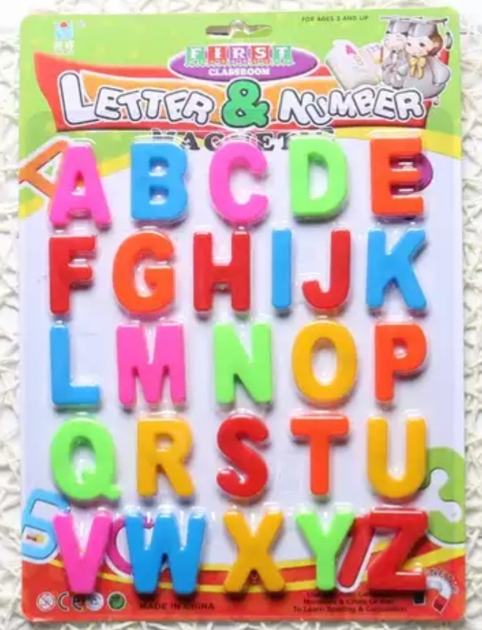Kids Educational Letter Toys Fridge Magnet Magnetic Puzzle Toy alphabet Stickers Drawing board accessories toys for Kids