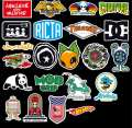 10 Pcs/Pack Colorful Mixed Funny Fashion Stylish Waterproof Stickers for Mobile,Skateboard,TV,PC,Laptop