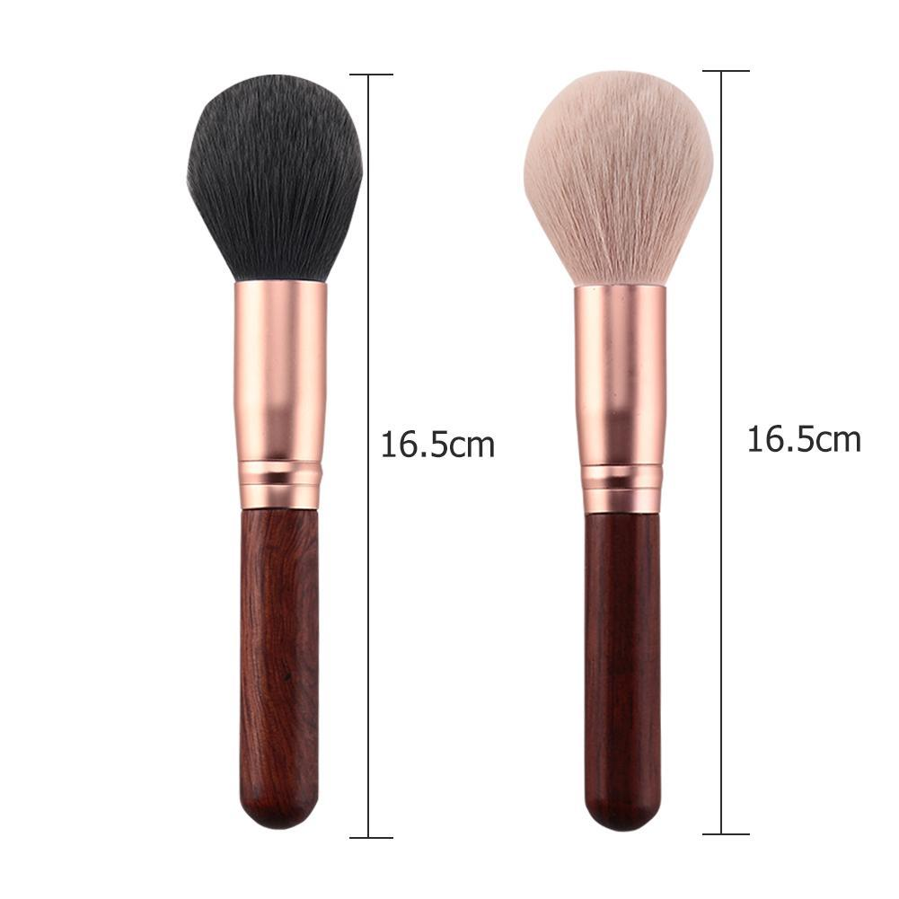 Solid Wood Blush Powder Foundation Brush Face Make Up Cosmetic Brushes Tool