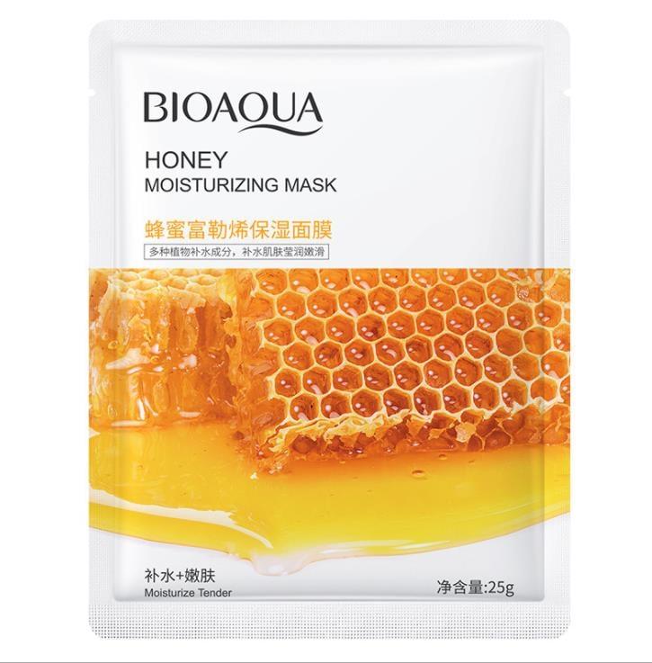 BIOAQUA Honey Moisturizing Skin Care Oil Control Mask-25g
