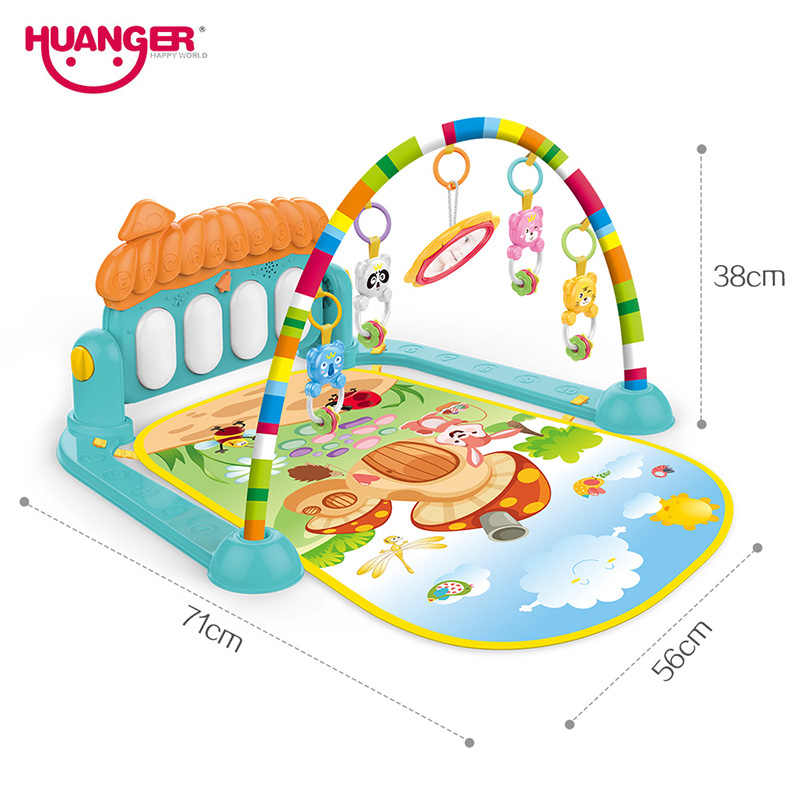 Huanger Baby Game Rug, Play Gym with Musical keyboard Mat for kids 3 in 1  0-3 year child: Buy Online at Best Prices in Pakistan   Daraz.pk