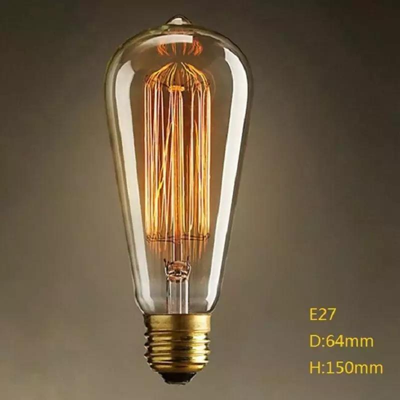 40w Edison Bulb E27 Incandescent Bulb 110v 220v Light Bulb Filament Lamp Lampada For Home Decoration