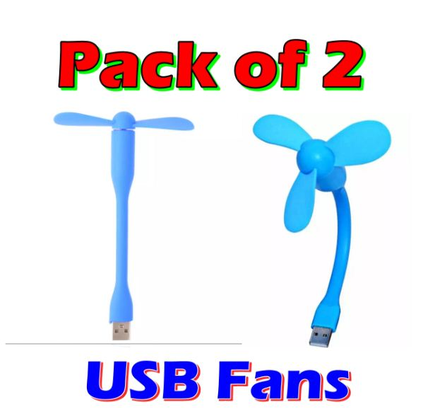 Pieces USB Fan Safe 3 wing Fan and 2 wing fan for Laptop power bank Smart Phones shop for you