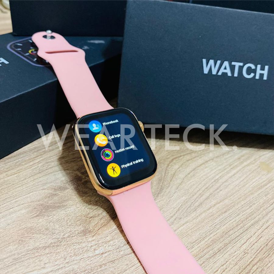 MC72 Pro Smart Watch - Bluetooth Calling Watch - 55 Customized Display Wallpaper - WhatsApp Messaging Watch - Health Fitness Gyming Exercise Tracker