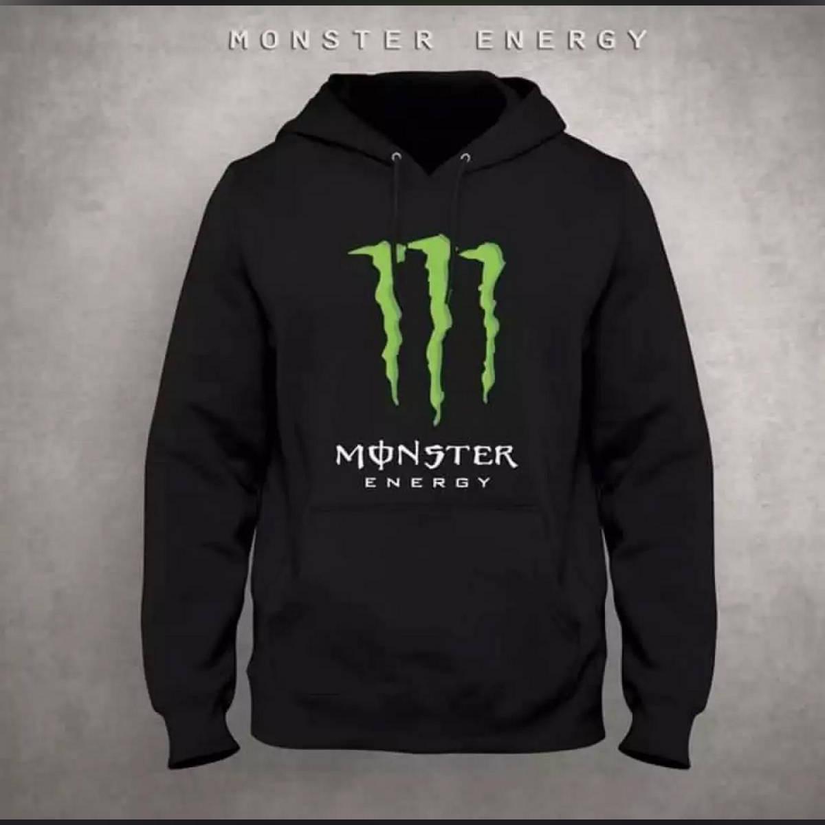 Monster energy black Kangro hoodie