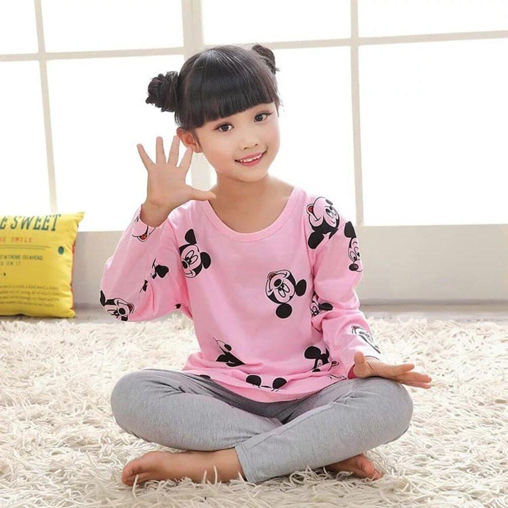 Baby Mickey mouse Logo Printed Kid Night SUit