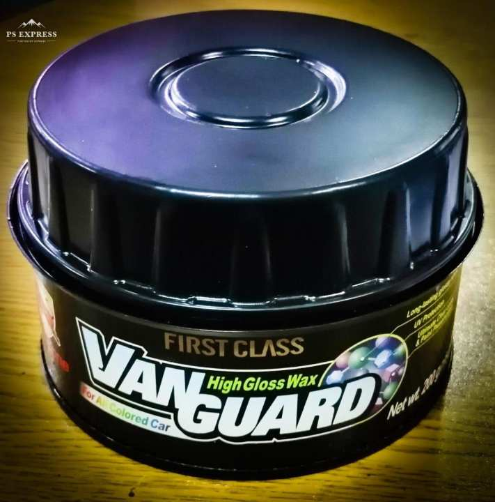 Bullsone Car Care Vanguard High Gloss Hard Wax For All Colored Car 200g