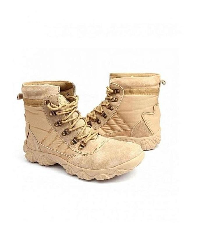 Casual Army Style Low Top Boots
