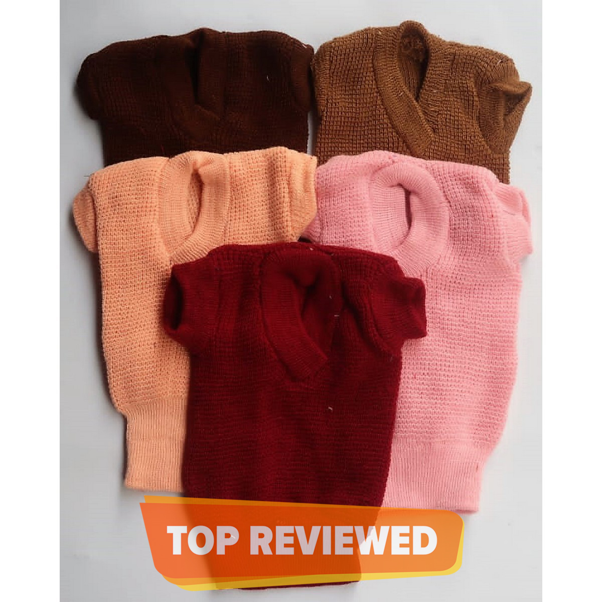 Pack of 3 - Inner Woolen Sweaters for New Born Babies
