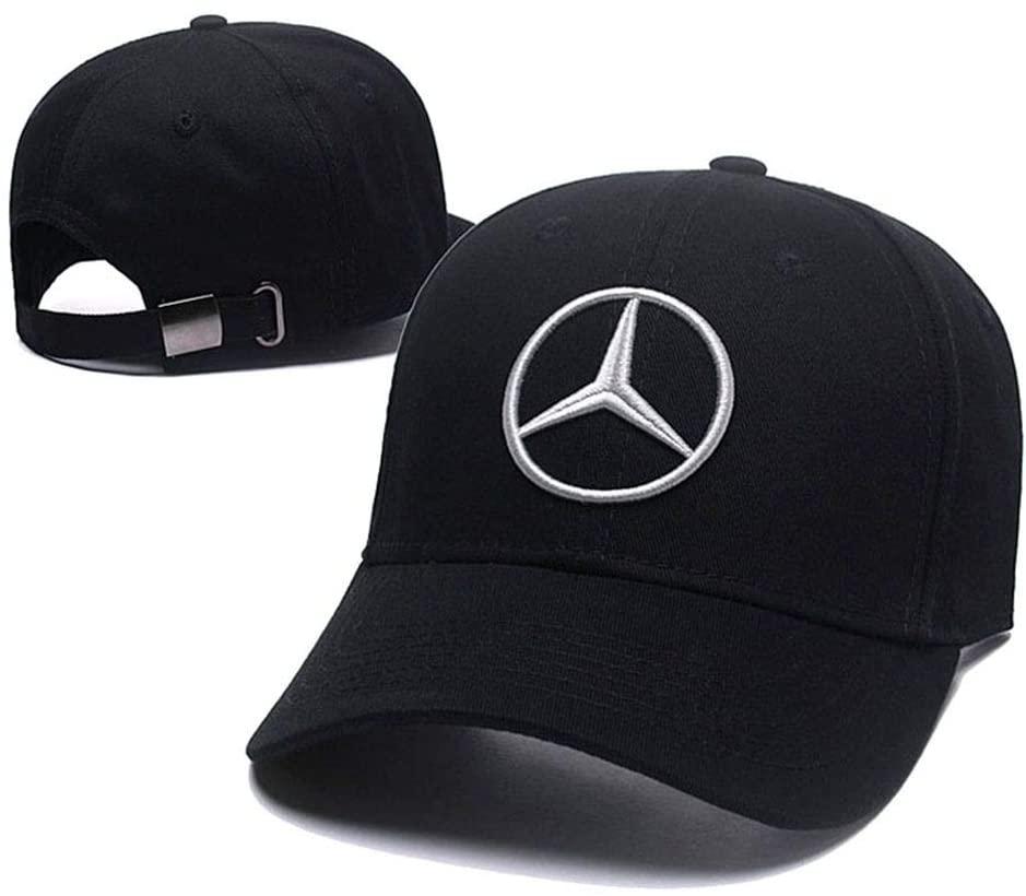 Flex Black Baseball Hat Mercedes