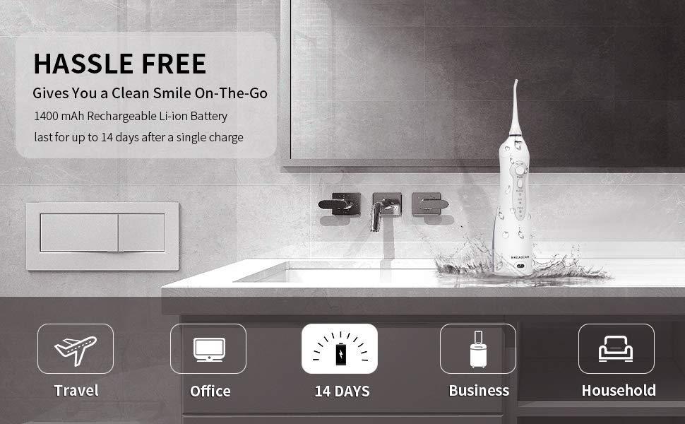 hassle free water flosser
