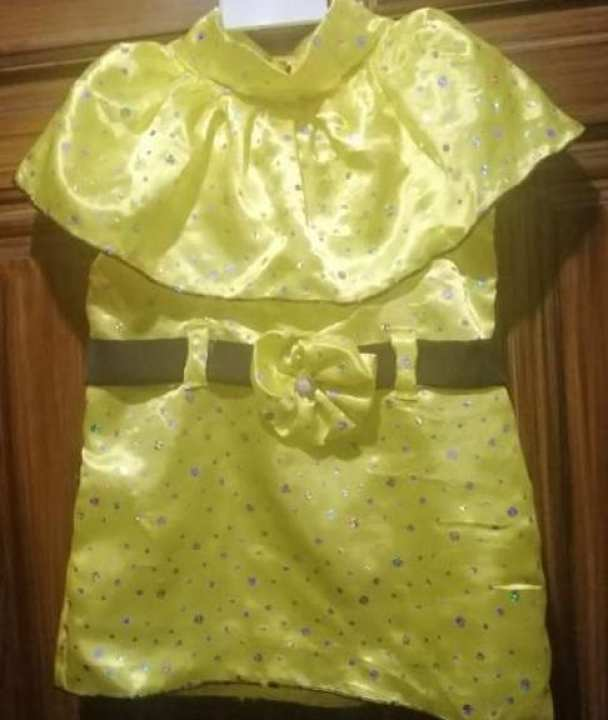 bababy frock silky