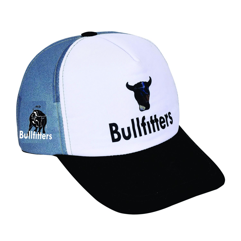 Bullfitters Head Wear Sun Hat Baseball Cap Race High Performance Running/Outdoor Sports Hat - Sublimated Cap Visor Cap With Strap