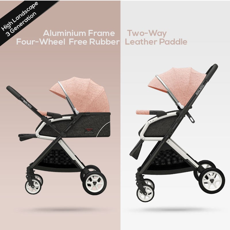 Portable Baby Stroller (More comfortable, luxury experience)