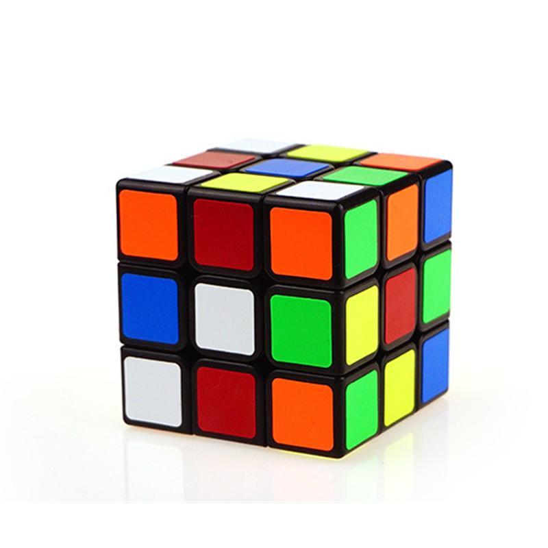 Rubik Cube Classic Toys Cube 3X3X3 Abs Sticker Block Puzzle Speed Magic Cube