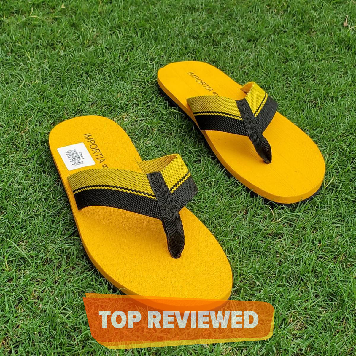 Yellow Summer Flipflops/Slippers Casual