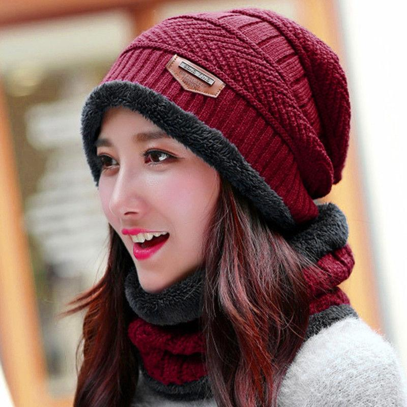 Amazing Winter Outdoor Hedging Candy Cap Hat Sports Neck Scarf Cotton Knit  Warm 0d938ee12e70