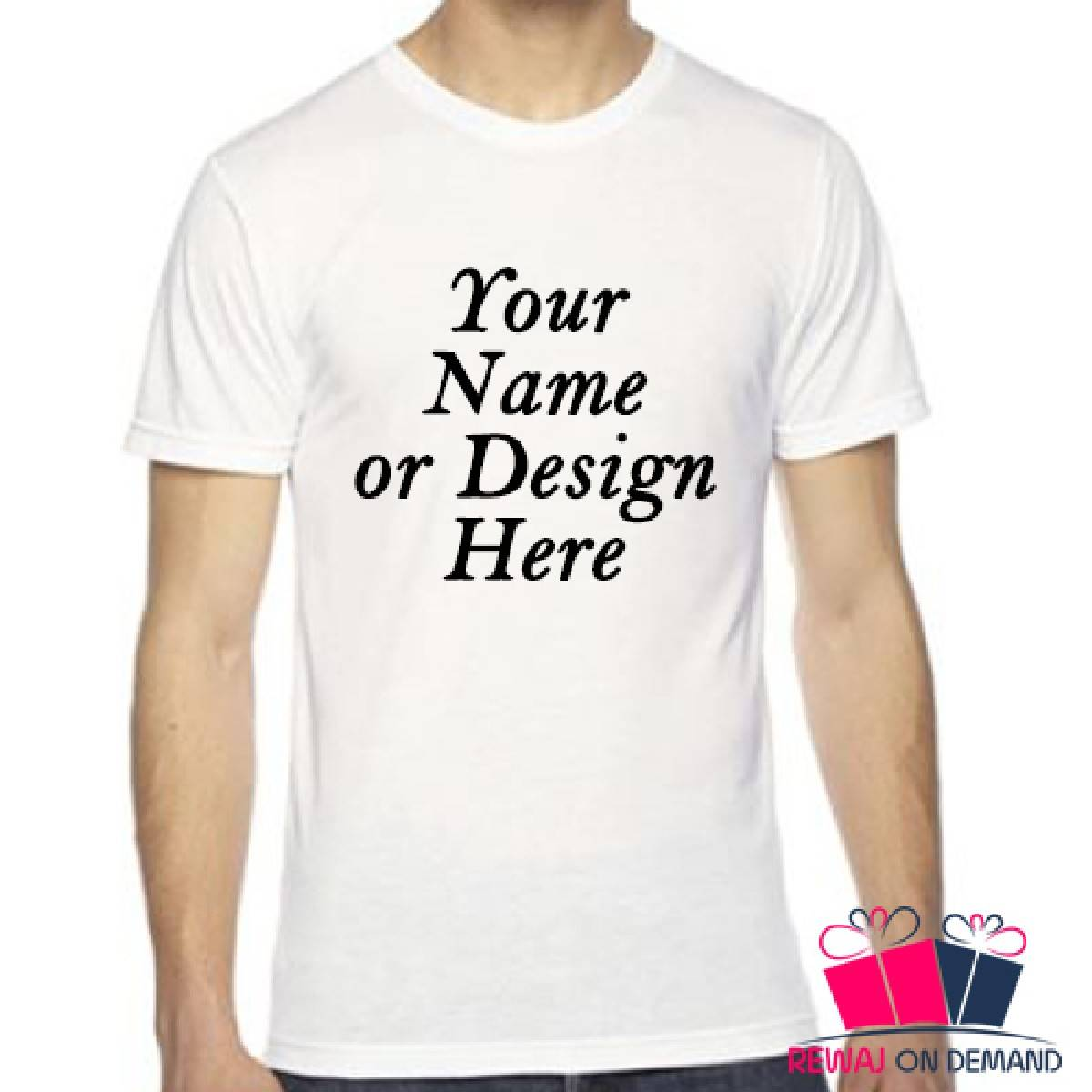 Custom Tee Shirts, Customize Picture Shirt, Customize Design Shirt, Personalized Tshirt, Design Your Own Print Text Picture or Image Half Sleeves White Shirt