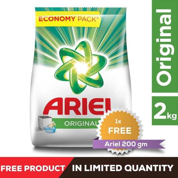 Ariel Original Detergent Washing Powder, 2kg