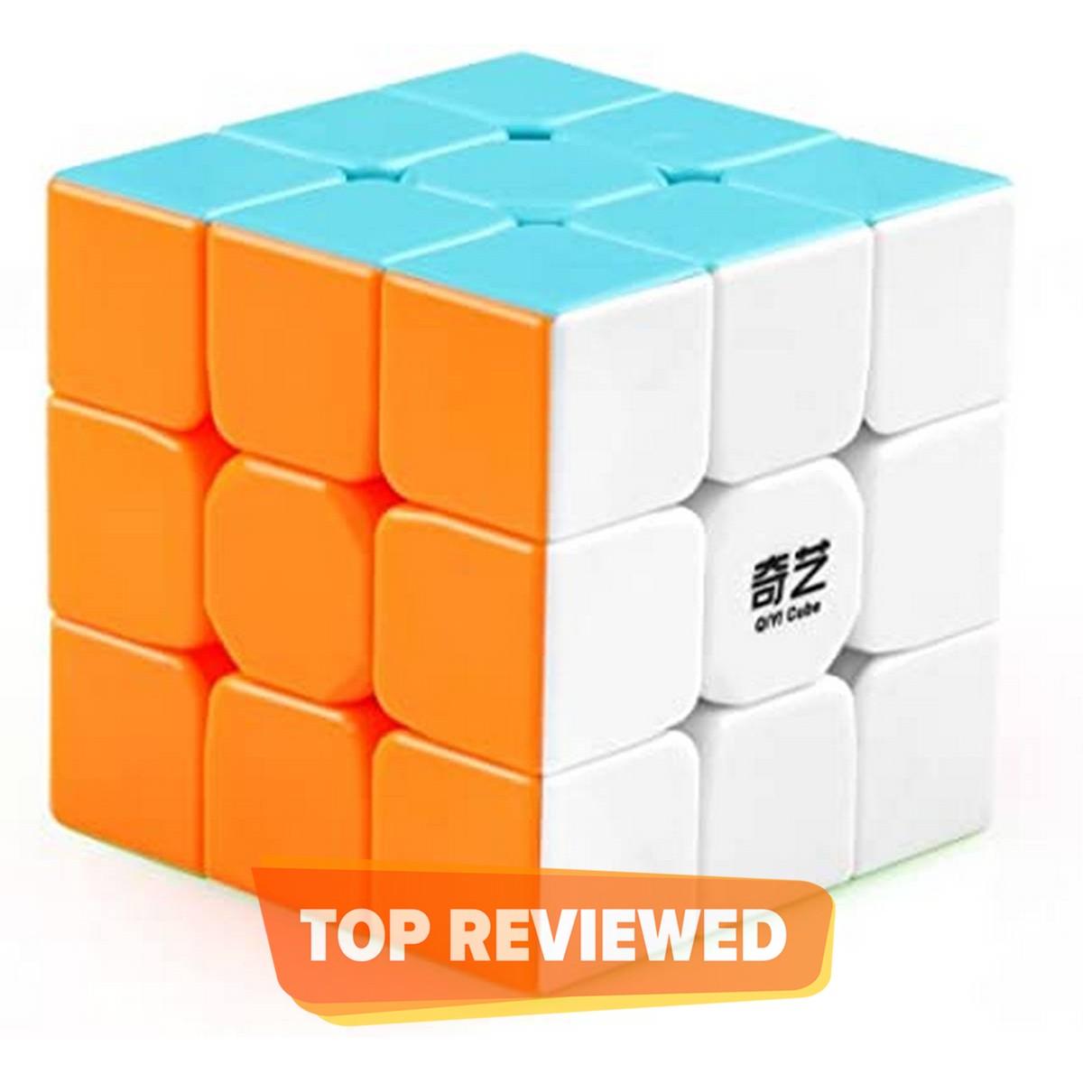 Rubiks Cube 3x3 Qiyi Warrior S Best Quality Fast Magic Rubik Speed Cube Puzzle Toys