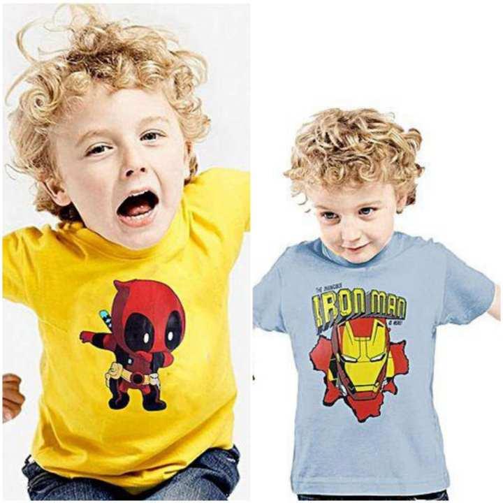 Shazi Pack of 2 Kids T-Shirts