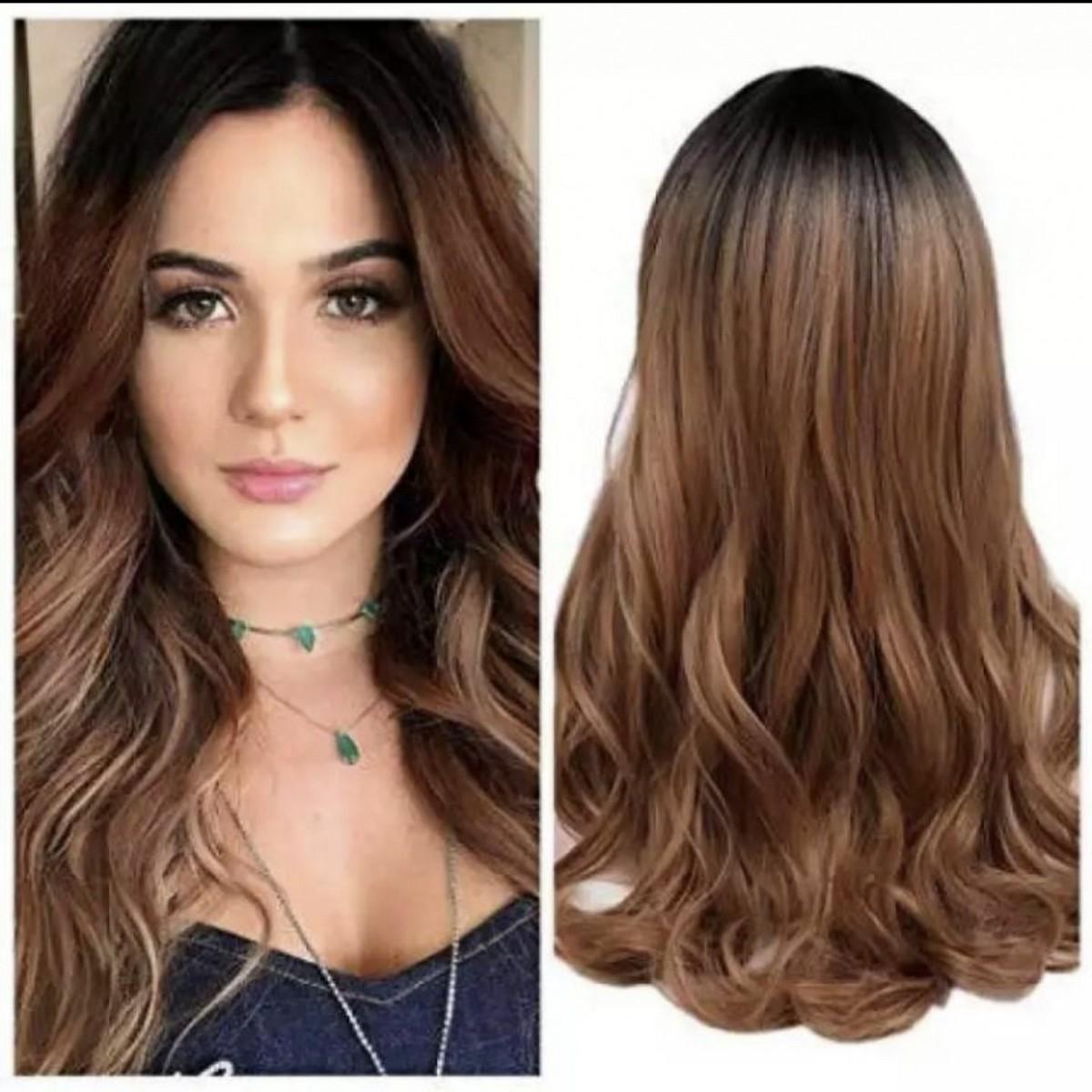 Hair Wig For Women Full HeaD Cap.Natural wigs