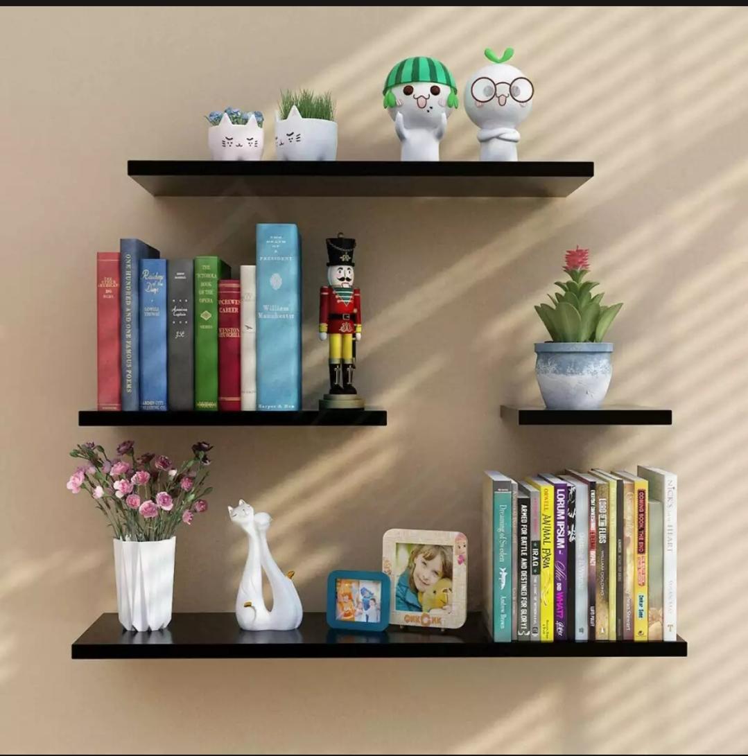 Floating shelves wall shelves storage shelves mounted shelfs 4piece
