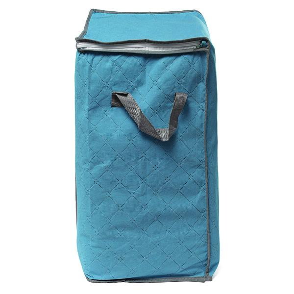 Foldable Clothes Pillow Blanket Closet Underbed Storage Bag Blue-S: Buy Online at Best Prices in Pakistan | Daraz.pk