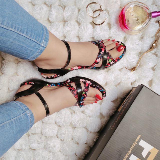 New Fancy Flat Sandals Shoes for Women FR8-89
