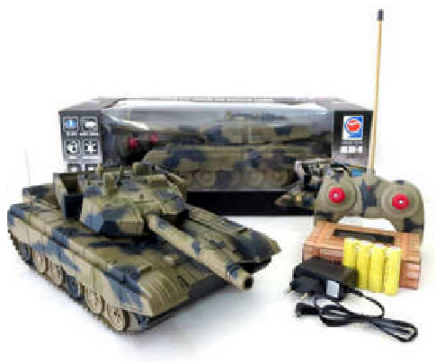 Rc Tank 168-19 Type 99 Rc Battle Tank