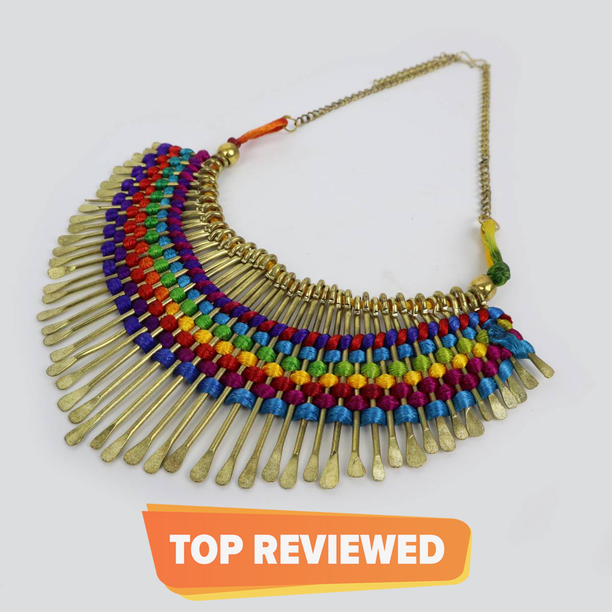 Antique Multicolor choker necklace for women / Fancy pendant chokher for girls / vintage Brass Work Haar neckless and pendants for ladies / Latest jewelry set for women