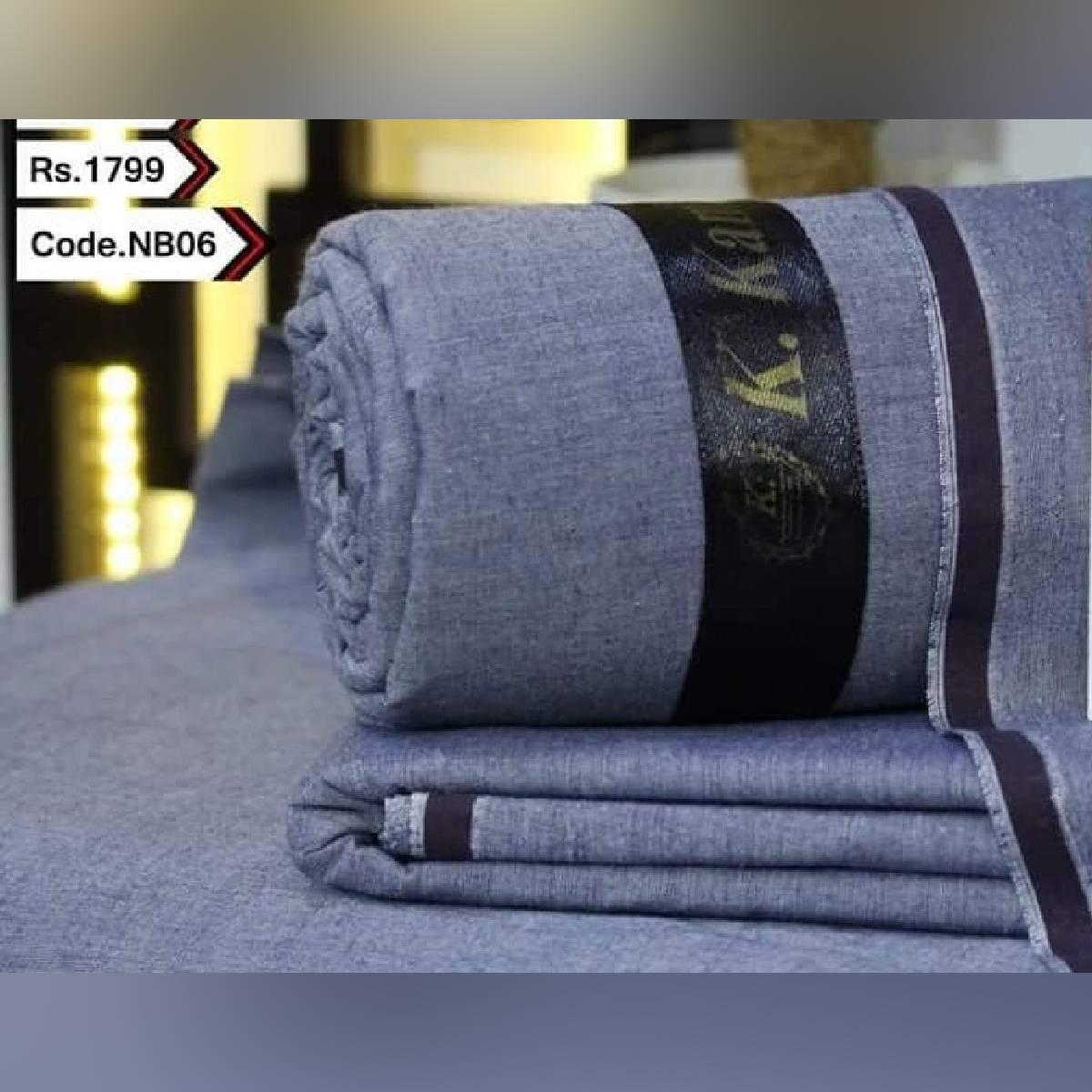 Special Original Kamalia Khaddar Unstitched Fabric For Man