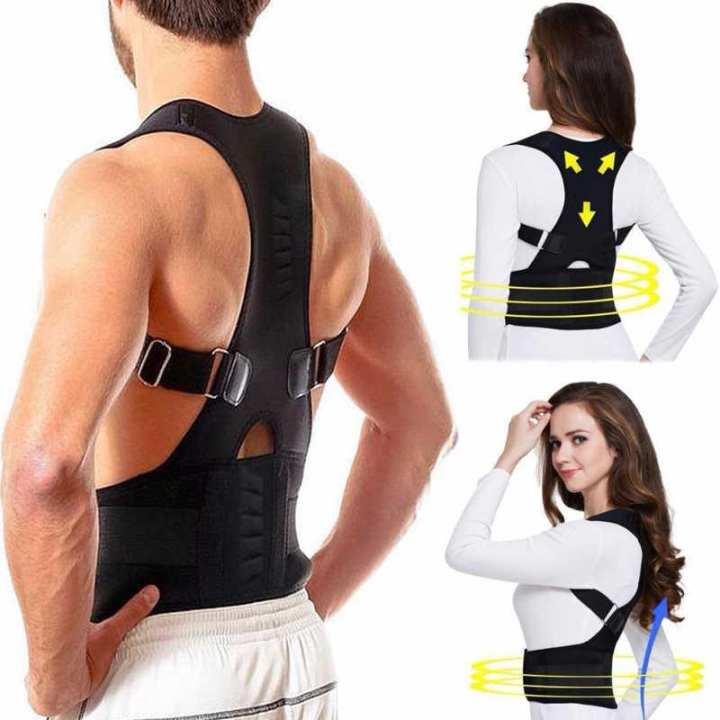 2019 Male Female Adjustable Back Posture Corrector Clavicle Spine Back Shoulder Support Posture Correction Corset Solve Back Pain